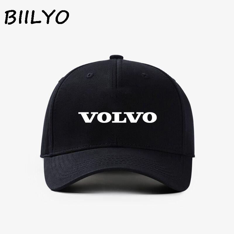 53bab539423 VOLVO Symbol Car 2018 Designs Patterned Mens Womens Girls Boys Adjustable  Cap Baseball Outdoor Sports Mesh Hat Gifts Ball Caps Fitted Caps From  Alley66