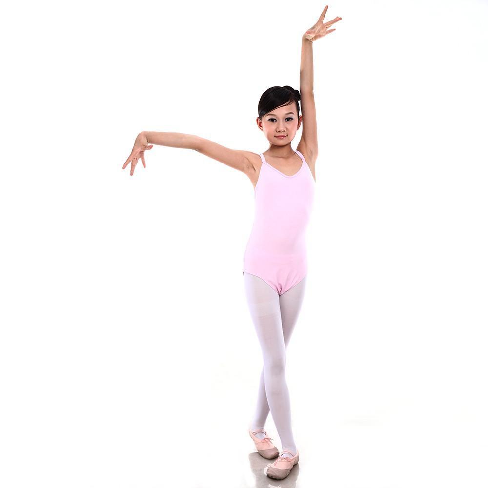 6ed23cf04 6-12Y Kids Children Bodysuit Jumpsuit Leotard Girls Ballet Dance ...