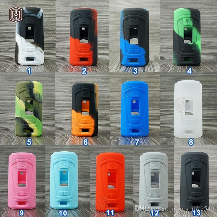 Populaire GBOX Squonker 200 w cas 13 couleurs sans cendre nouvelle silicone GBOX Squonker 200 w Boîte Mod vente chaude