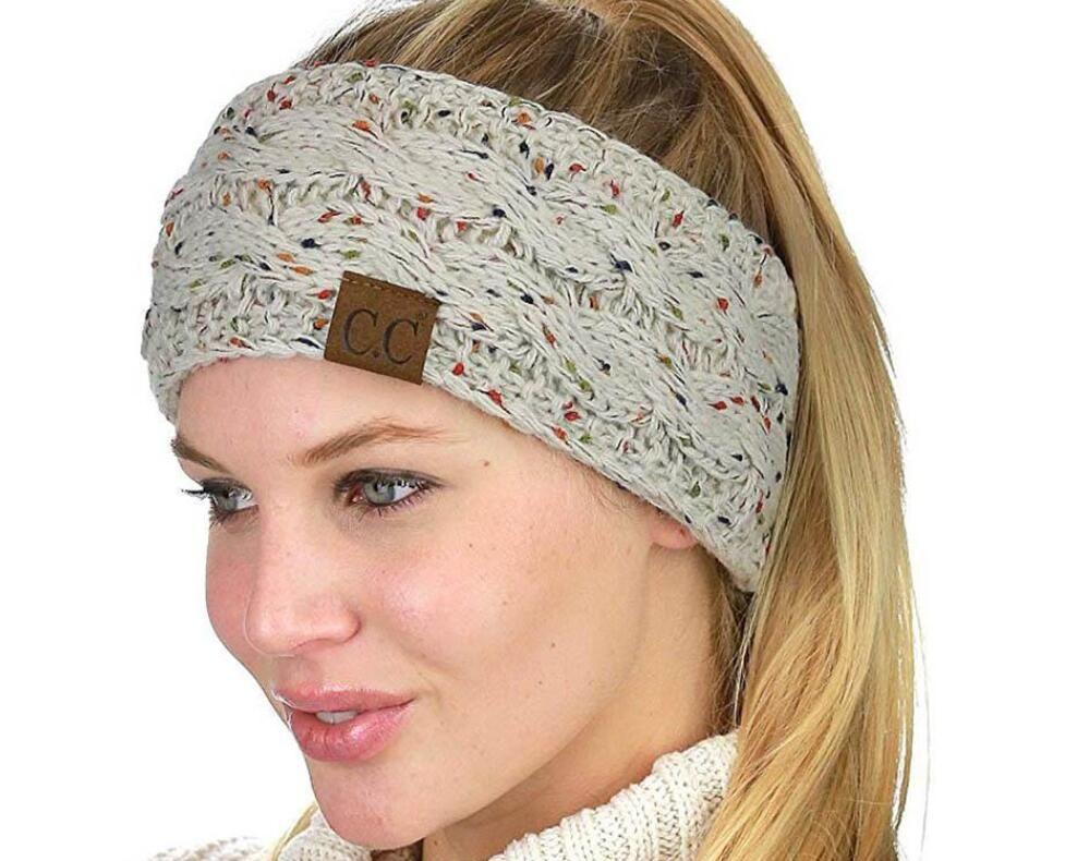 CC Knitted Crochet Headband Women Winter Sports Headwrap Hairband Turban  Head Band Ear Warmer Beanie Cap Headbands Free DHL Pretty Maternity Clothes  Petite ... c67a106d4fb