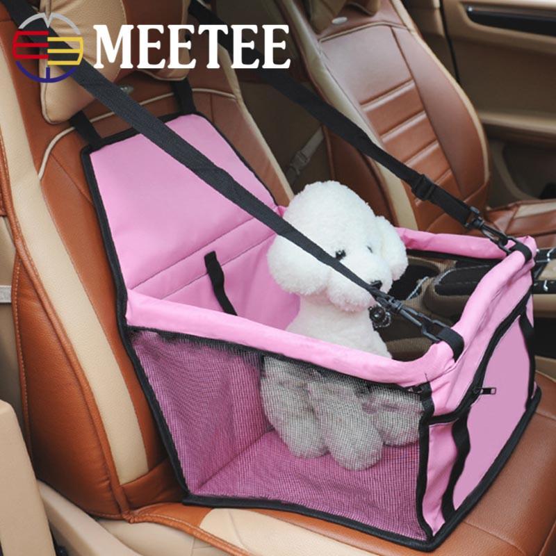 Pet Car Seat Cushion Dog Anti Dirty Net Veil Breathable Bag Mat