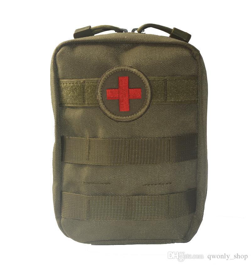 Empty Bag for Emergency Bag Tactical First Aid Kit Waist Pack Outdoor Camping Travel Tactical Molle Pouch