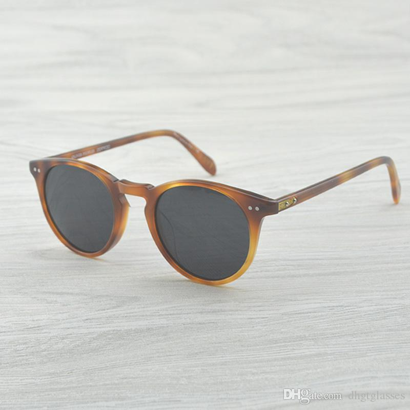 sale retailer 23133 35c93 OV5256 SUNGLASSES Vintage designer brand Men s oliver peoples ov5256 Sir O  malley polarized sunglasses Retro Male Driving Outdoor Women Sun