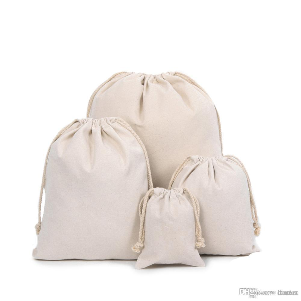 7cd073ecb920 Wholesale Custom Nature Cotton Canvas Drawstring Bags With Thick Cotton  Strings Any Other Size Pls Feel Free Contact Us Recycled Bags Designer  Handbags ...