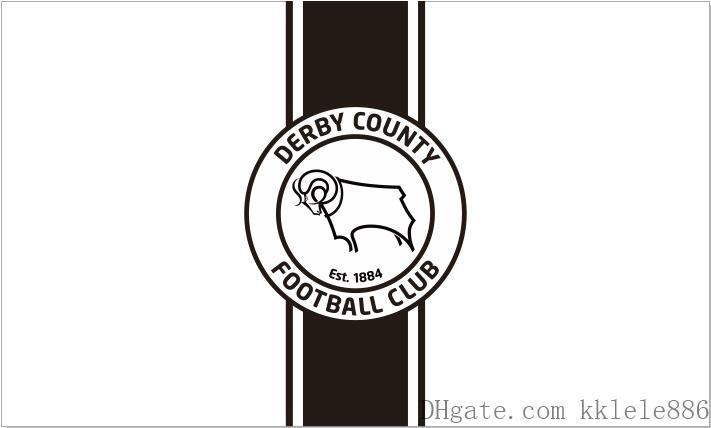 Derby County FC Flag 90 x 150 cm Polyester England Football Club Sports Banner