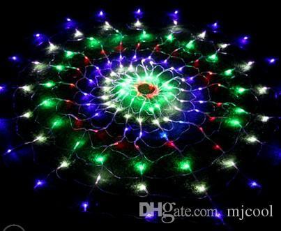 Fairy Indoor Outdoor Colorful 120 LED Światła netto dla świątecznych Party EU UK USA AU wtyczka 1,2m