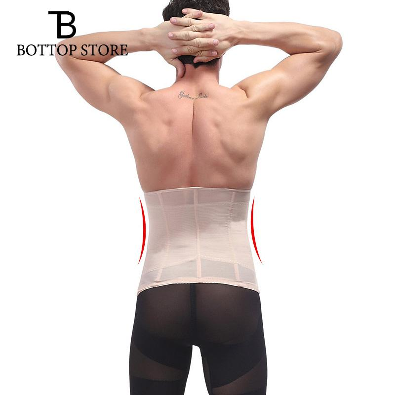 2a071191eaf 2019 Men Tights Belt Corset Man Girdle Belly Fat Belt Compression Waist  Trainer Mens Slimming Male Trimmer From Freea
