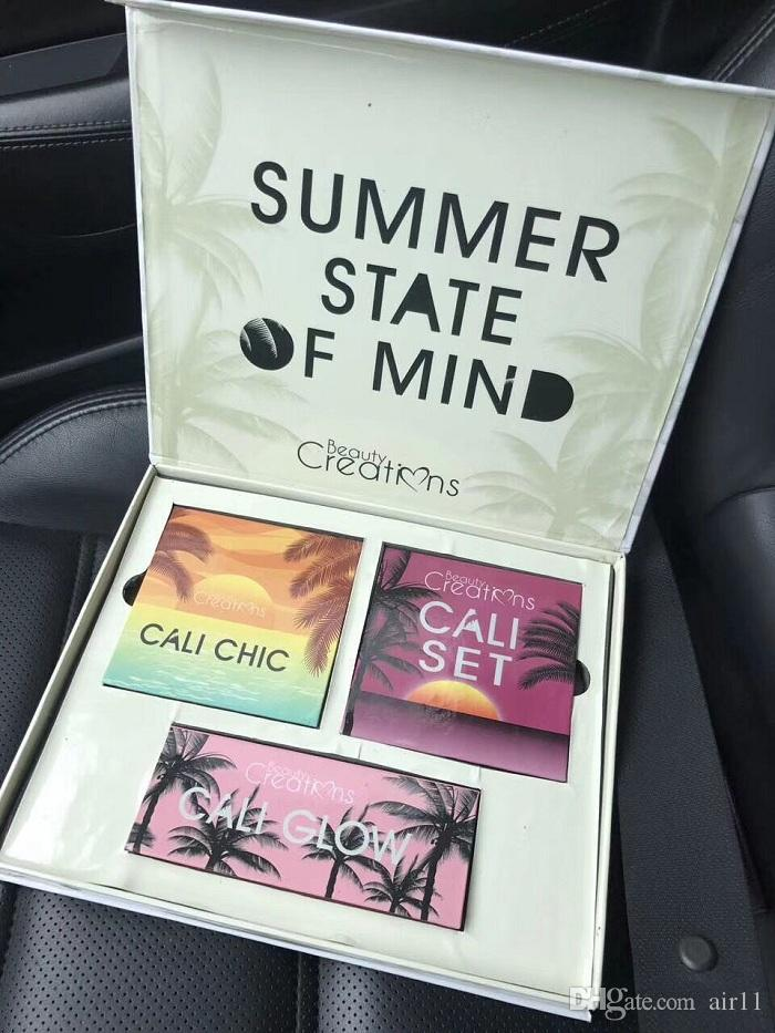 39673bf5a1 Newest Beauty Creations SUMMER STATE OF MIND Eyeshadow Set CALI CHIC CALI  GLOW DHL Shipping Free Beauty Creations Eyeshadow Set Online with   27.43 Set on ...