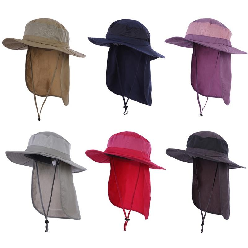 Compre Gorra De Pesca Transpirable De Secado Rápido Protección Solar  Sombrero Para El Sol Hombres Y Mujeres Al Aire Libre Gorro De Montaña Protector  Solar ... 66a8b574810