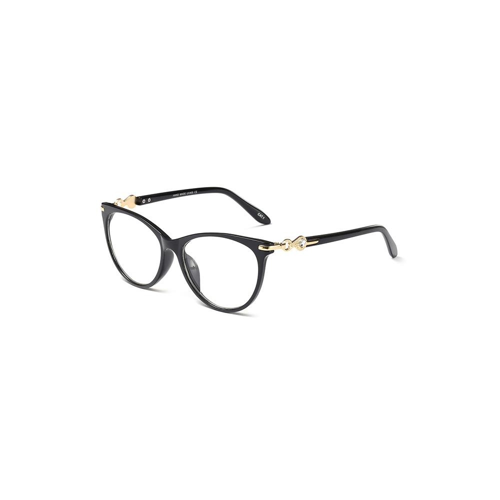 5dbd8c34294 2019 Light Women Eye Glasses Frames Plastic Fashion Black Clear Eyeglasses  Transparent Fashion Design Optical Glasses Frame 97544 FDY From  Marquesechriss