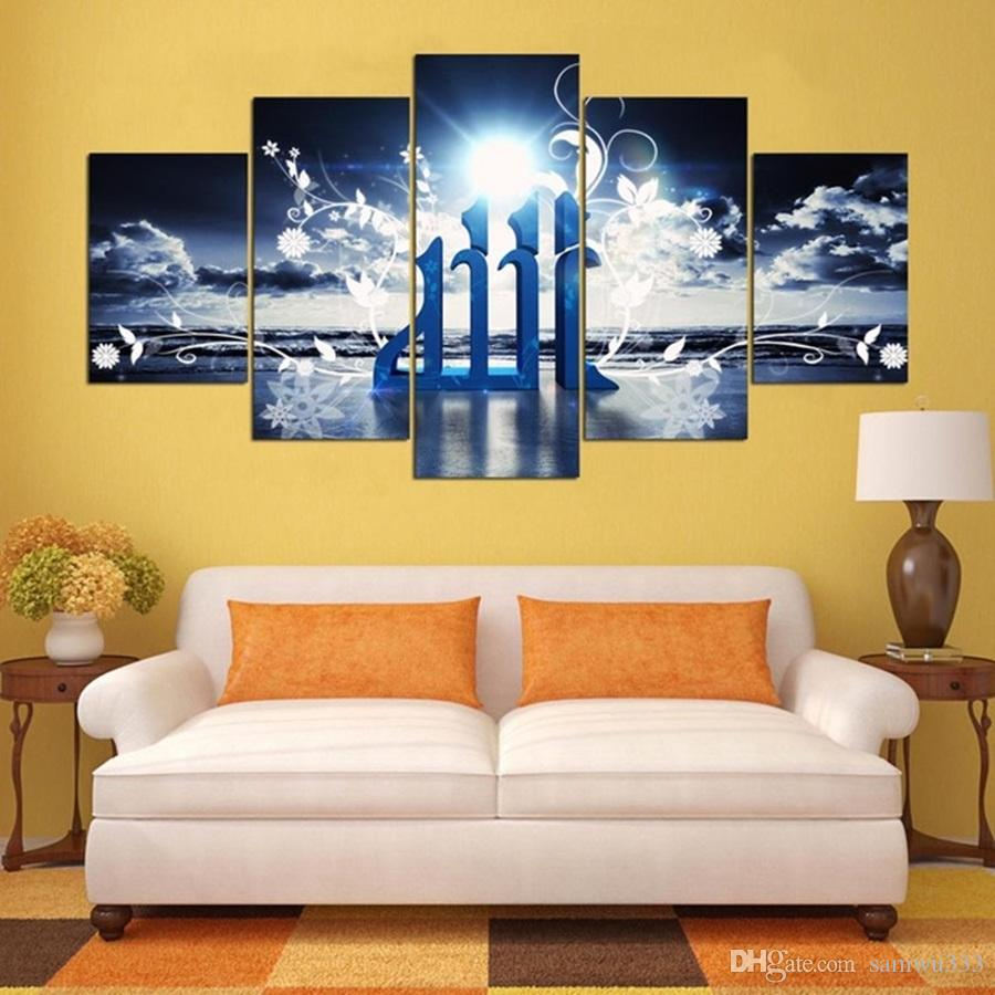 2018 No Frame Wall Art Home Decoration Posters Picture On Canvas ...