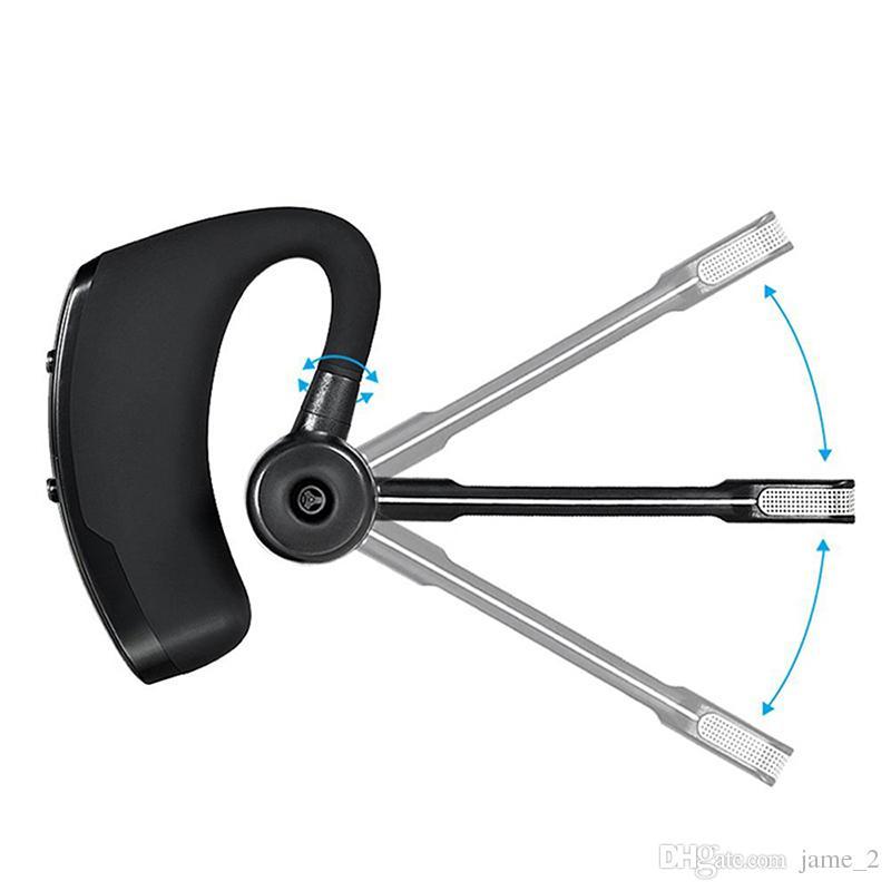 V8S Business Wireless Headset Bluetooth Kopfhörer V4.1 Freisprecheinrichtung Mit Mikrofon Stereo Musik Für iPhone Xiaomi Samsung
