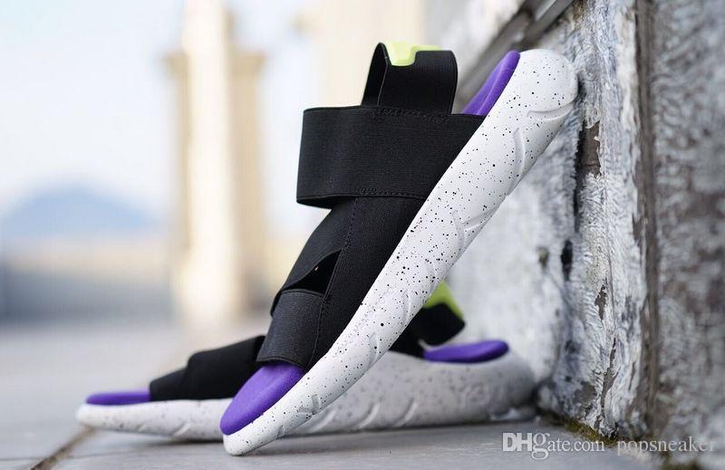 b46a29ed9c9c New Fashion Summer Y-3 Qasa Sandal Black Fashion Y3 Sandals KAOHE ...