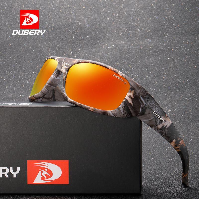 Compre DUBERY 2018 Óculos De Sol Dos Homens Marca De Camuflagem Moldura  Polarizada Óculos De Sol Para Homens Night Vision Masculino Óculos De Sol  Óculos ... 3ab2697d4b