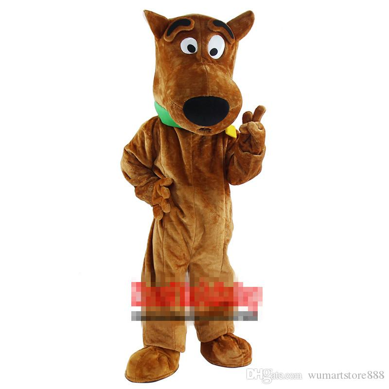 Scooby Doo Mascot Costume Lovely Dog Cospaly Cartoon Animal Character Adult  Halloween Party Costume Carnival Costume Flapper Costumes Cheerleader  Costume ...