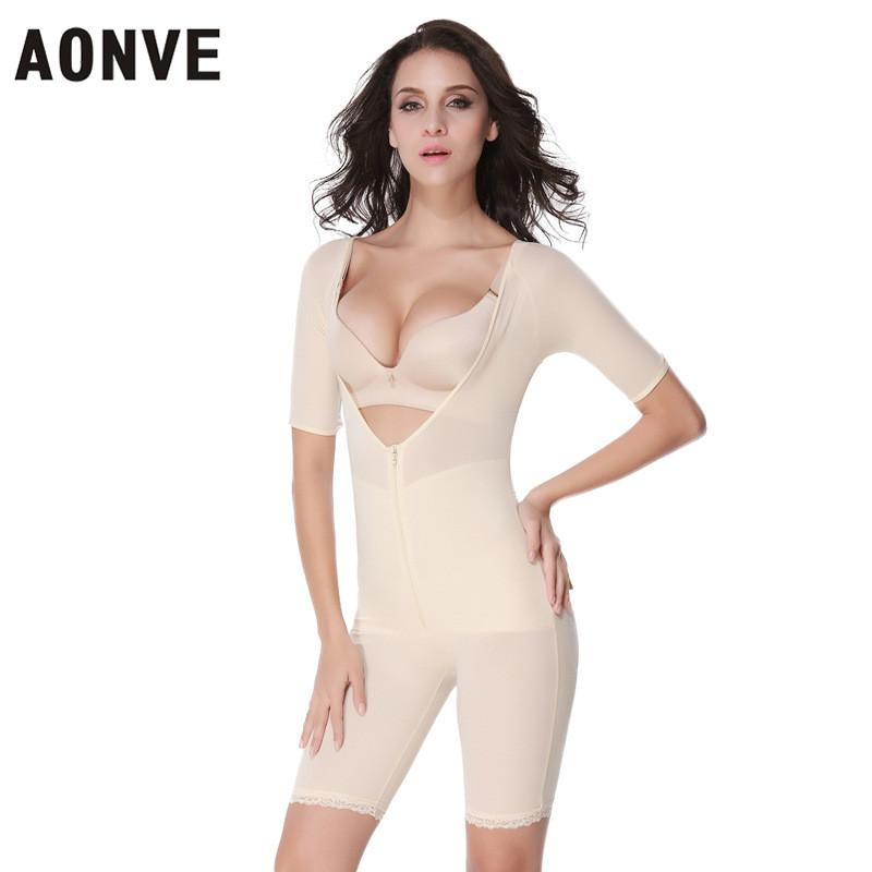 33f1aca2582 AONVE Butt Lifter Slimming Body Shaper Underwear Bodysuits Women ...