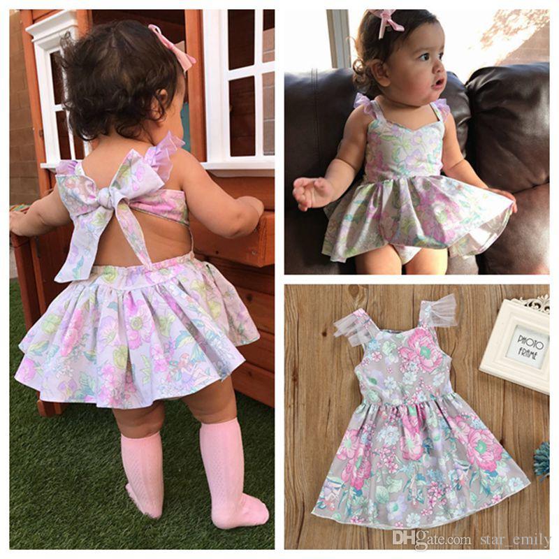 dff533c69e2e 2019 Kids Dress Baby Girl Dress 2018 Hot Sale Summer Cotton Dresses ...