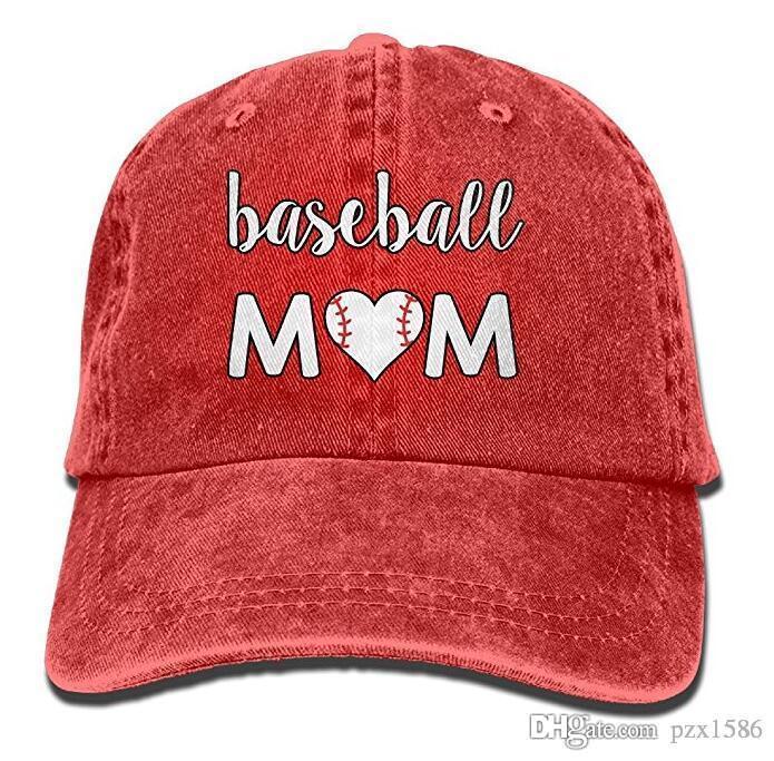 df2bedb98 pzx@ Baseball Cap for Men Women, Baseball Mom Unisex Cotton Adjustable  Denim Cap Hat Multi-color optional