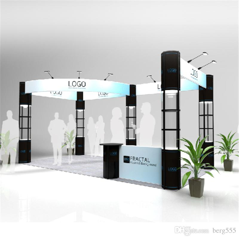 Modular Exhibition Stands : Standard ft ft modular exhibition booth display system