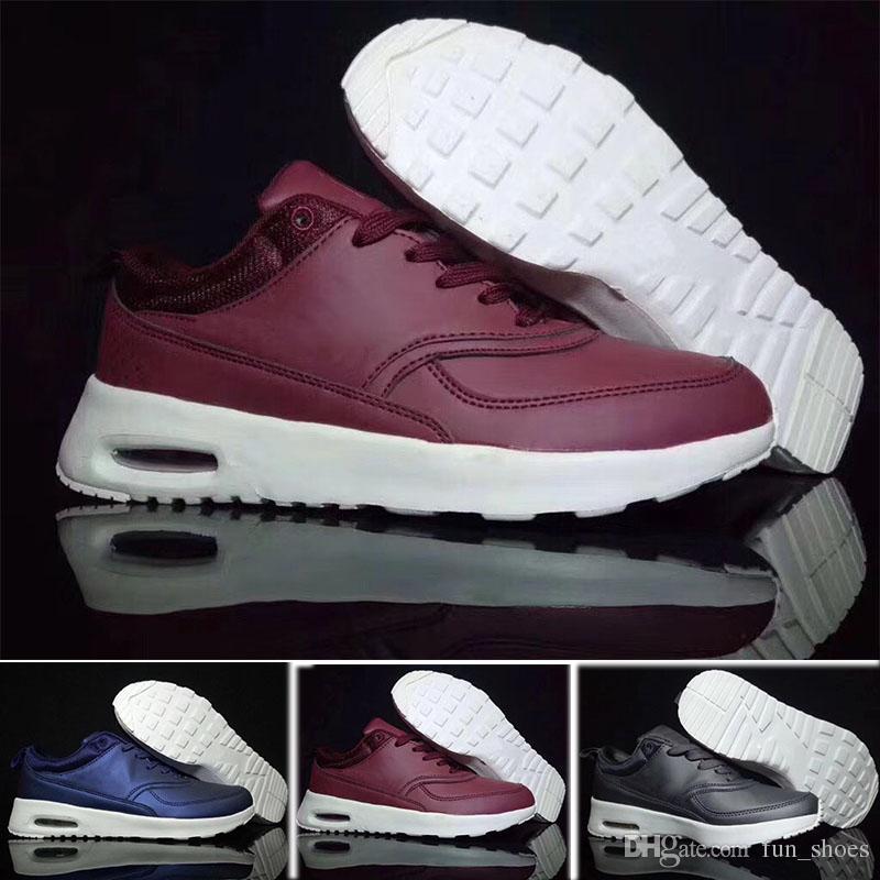 buy online 3432b 90109 Compre 2018 Nike Air Max 90 Sneakers Shoes 90 Deporte Para Hombre Zapatos  Clásicos Hombre Mujer Zapatillas Negro Rojo Blanco Entrenador Deportivo  Superficie ...
