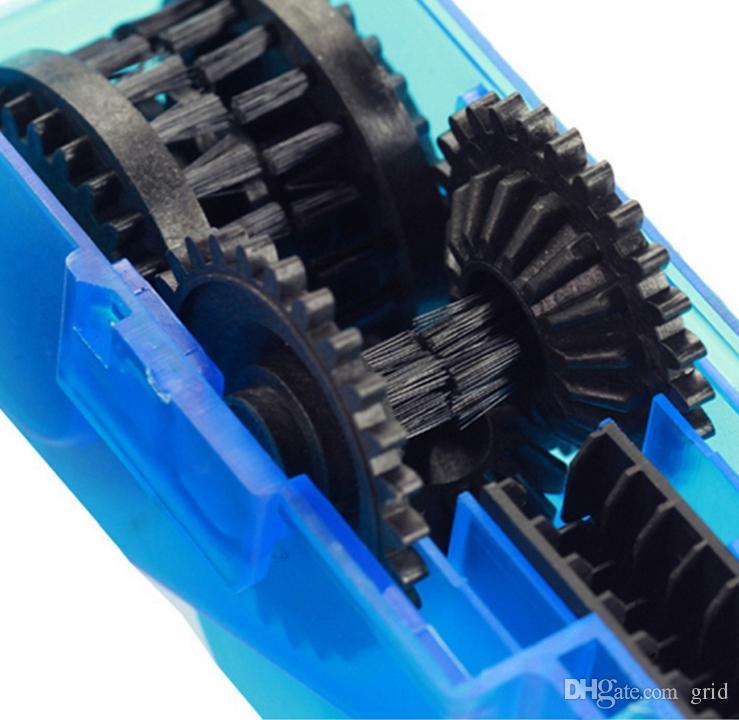 Rejilla de reparación de bicicletas de limpieza para cadenas de ciclo de lubricación de herramientas máquina de lavado de cepillos depurador MTB Mountain Bike Chain Cleaner Kit de herramientas
