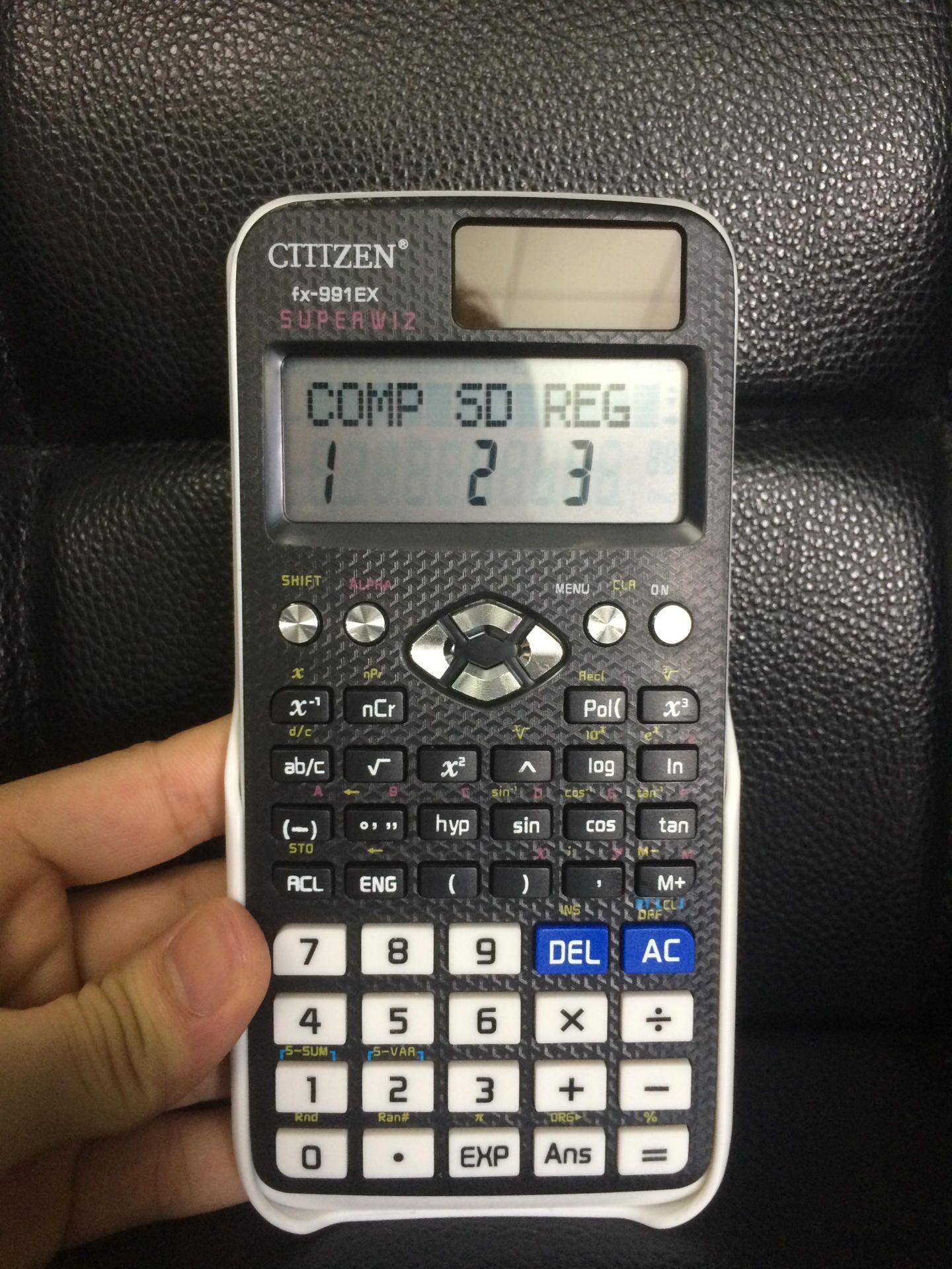 Calcolatrice scientifica Dual Power 991EX Display a 12 cifre in ABS Calcoladora Cientifica Student Calculated Calculus Gift DropShip