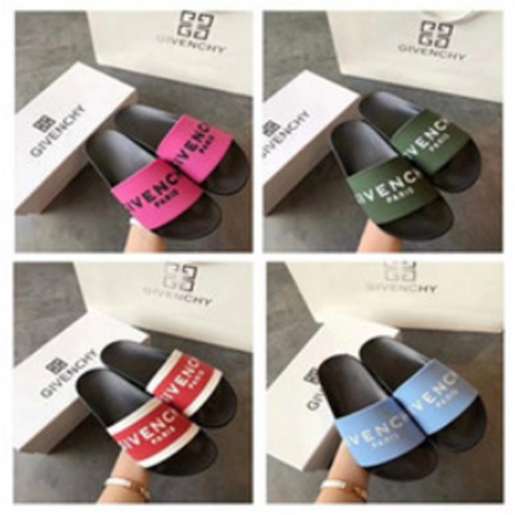 3192f6fd9 AAA Designer Sandals Slippers Slide Flip Flop 2018 Men Women Sandals Brand  Slippers Summer Huaraches Slippers Sandals Brand Slides Designe Work Boots  Wide ...