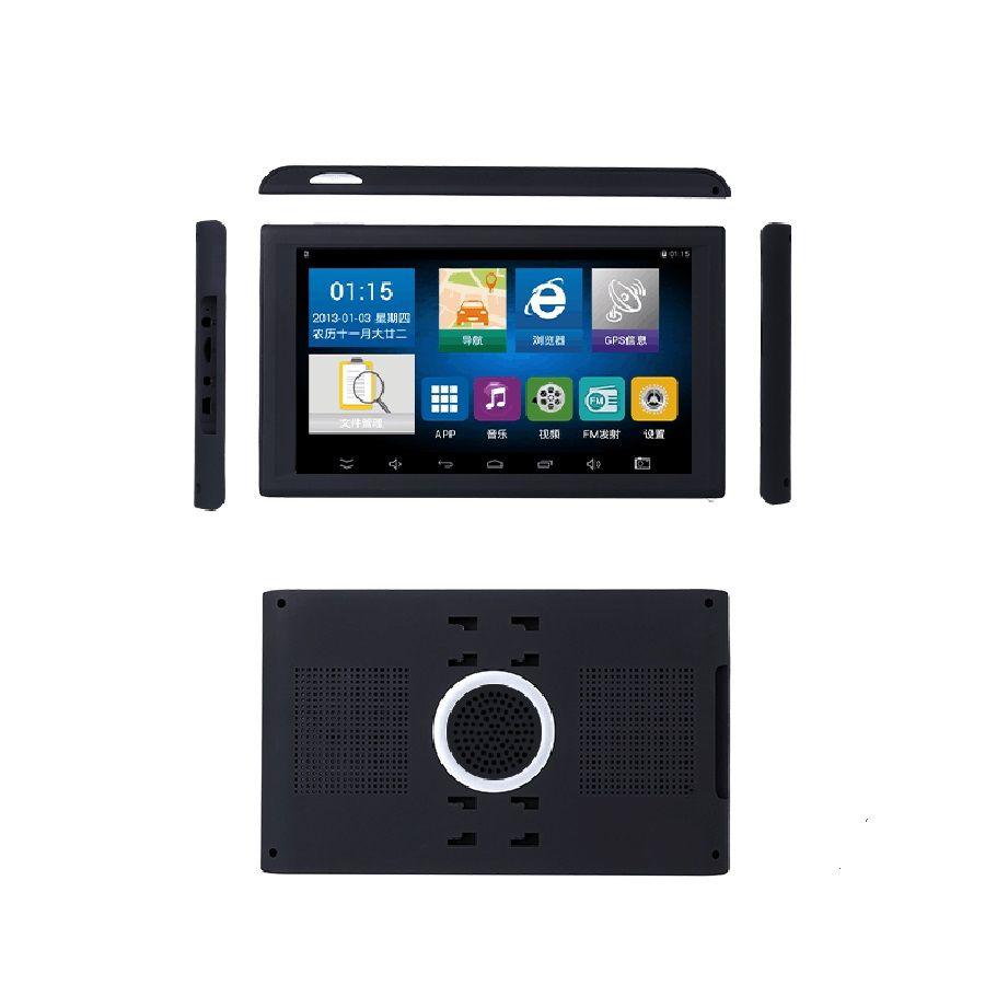 9 polegada Android Navegação GPS Do Navio GPS Do Carro DVR Gravador de Vídeo AV-IN Suporte Invertendo Câmera 512/8 GB Com Mps Livre T18