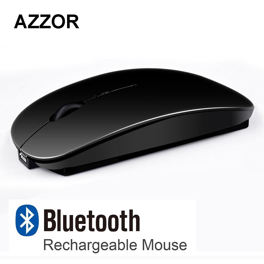 ef471aeed53 2019 AZZOR V8 Rechargeable USB Bluetooth 3.0 Wireless Mouse Mute Silent  Click Mini Noiseless Optical Mouse 2400 DPI For PC Laptop From Computcool,  ...