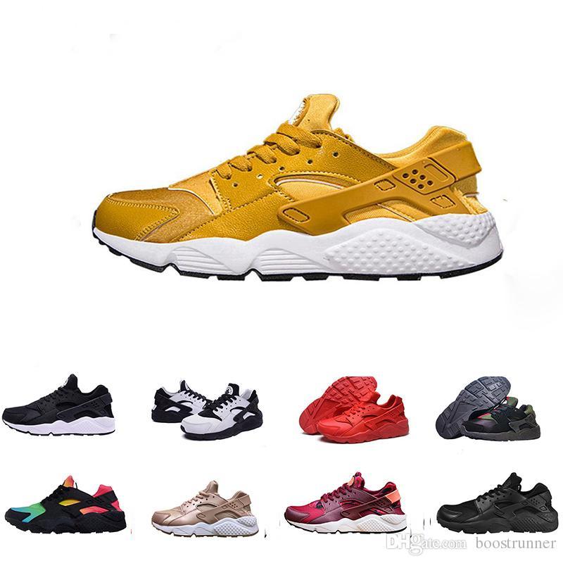 premium selection b58bc 9f179 Großhandel Huarache Ultra Männer Frauen Laufschuhe Triple Red Khaki Schwarz  Huaraches Sport Schuh Mens Womens Sneakers Von Boostrunner,  81.73 Auf De.