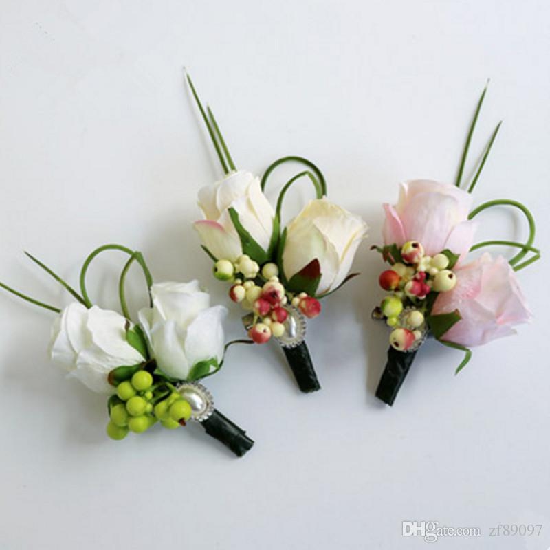 Grosshandel Luxuriose Chinesische Hochzeit Corsage Blume Hochzeit