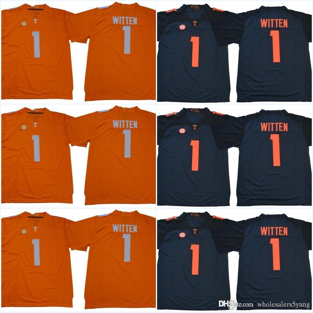 new concept 4f1a7 f7552 #1 Jason Witten #16 Peyton Manning Tennessee Volunteers College Jerseys  2018 New Style Stitched Jerseys Can Mix Order Free Shipping