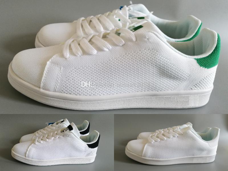 revendeur e6c36 cf3a4 2018 97 summer KITH Flyair all white mens women stan smith running  stansmith skateboard shoes eur size 36-44