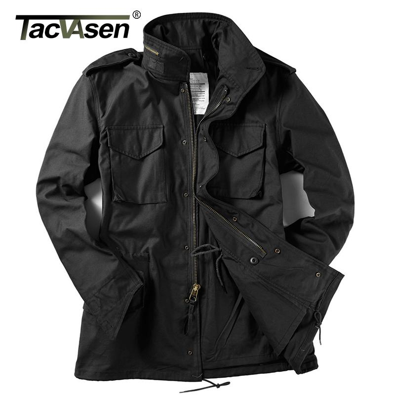 TACVASEN US Army Camouflage Military Tactical Jacket Men Winter Windbreaker Male Thermal Waterproof Jacket Raincoat TD-WHFE-015
