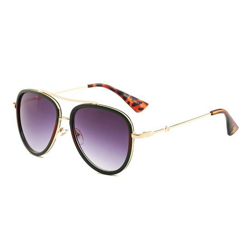 39b6eeb294 Brand Designer Sunglasses Women Men Good Quality Oversized Sun Glasses  Female Gold Frame Eyewear Vinatge UV400 Sunglasses Shop Bolle Sunglasses  From ...