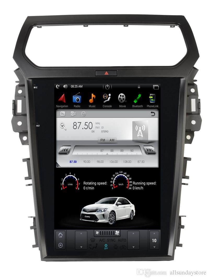 121quot teslastyle android navigation radio for ford t. Black Bedroom Furniture Sets. Home Design Ideas