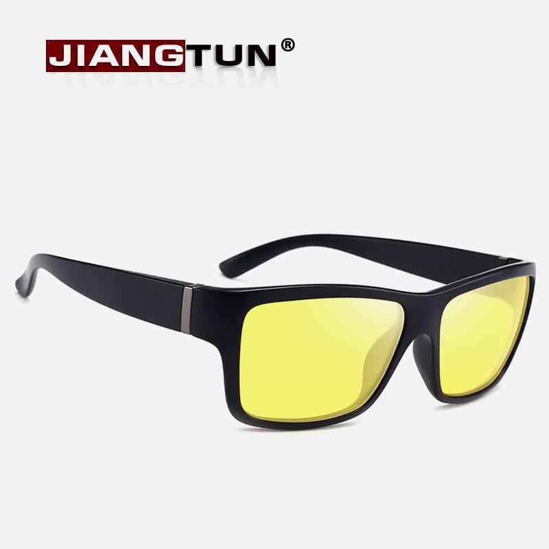 4b7b2320dc62 JIANGTUN Polarized Sunglasses Men Night Vision Yellow Lens Fishing Driving  Eyewear Male Sun Glasses JTgm03 Cheap Sunglasses Mens Sunglasses From ...