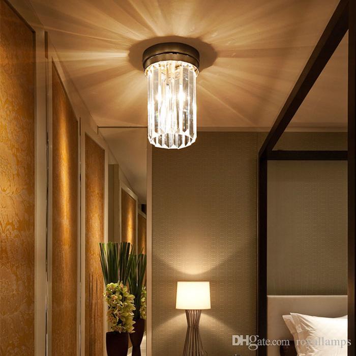 Großhandel Vintage Led Kristall Lampe Wohnzimmer Moderne Einfache ...