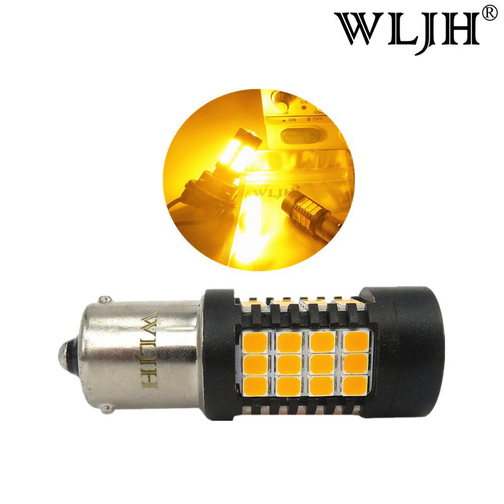 2018 Wljh Bau15s Led 1156py Py21w Light Lamp Turn Signal Resistor Wiring Diagram Bulb