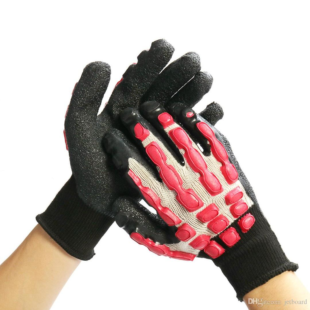 Abrasion Skid Resistance Anti-Cutting Gloves Work Impact Mechanics Tool For Rock Climbing suit for Assembling components glass manufacturing