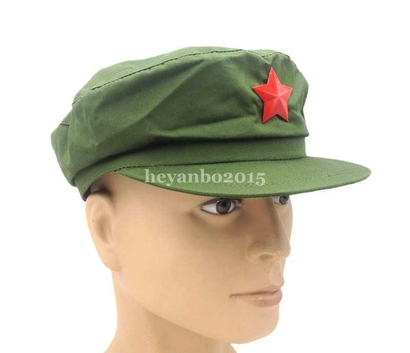 a33cbe5c692 2019 Chinese PLA Army Type 65 Cap Hat With Red Star Badge IN SIZES World  Store From Suipao