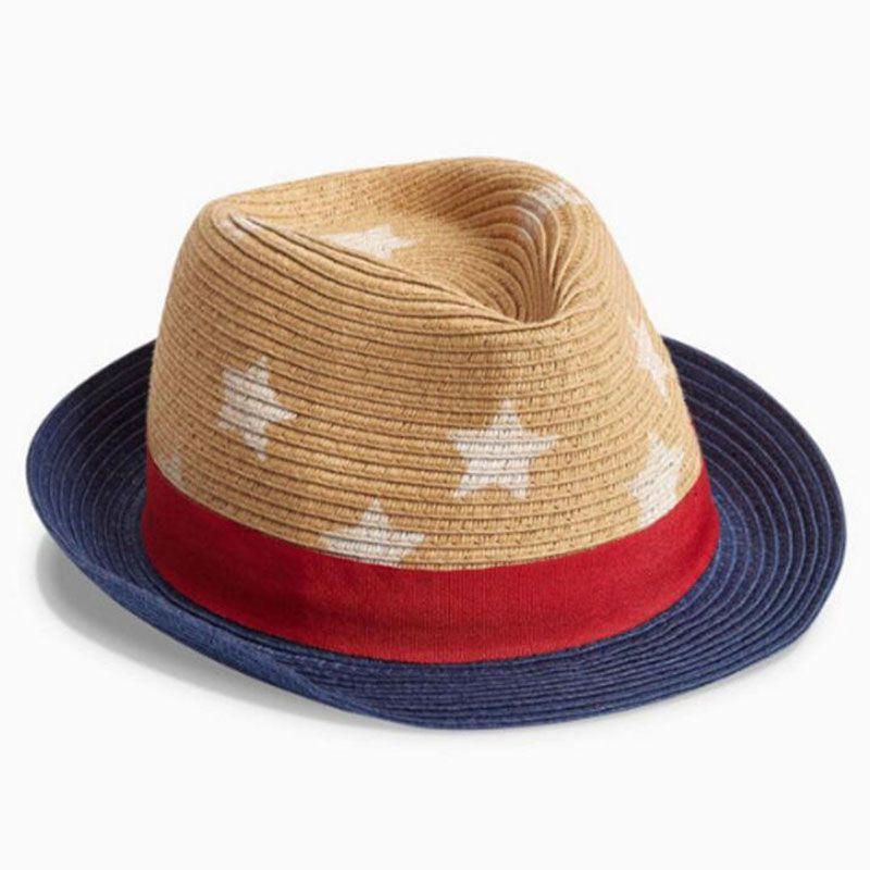 Wide Brim Hats For Boys Fashion Summer Beach Visor Caps Outdoor Khaki Straw  Hats For Kids UK 2019 From Jayshirts fcb30f04437