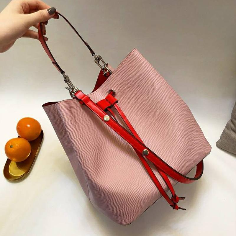 fd192d65823a Noe Bucket Shoulder Bags Handbags Women Famous Brands Epi Leather Tote Bag  Fashion Lockme Purse Female Crossbody Bag High Quality France Bag Designer  Bags ...