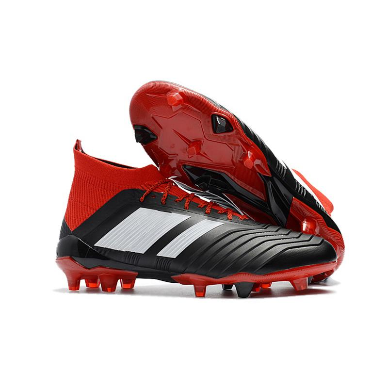 cheap sale explore 2018 Predator 18+x FG Soccer Cleats Chaussures Football Boots Mens Designer Sports Running Shoes for Men Sneakers Casual Trainers outlet new styles clearance new arrival outlet very cheap best sale for sale Ggq22Rut
