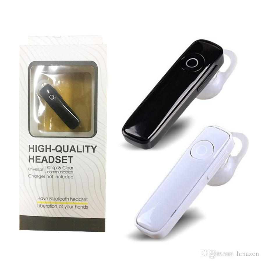 4b0e5d7a917 Newest M165 Wireless Stereo Bluetooth Headset Earphone Mini 4.0 Wireless  Bluetooth Handfree Universal For Cell Phone With Retail Package DHL Headset  Cell ...