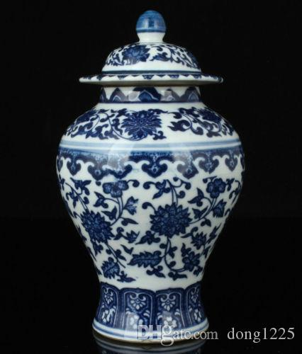 China Collectible Old Handwork Painting Blue And White Porcelain Delicate Jar >>>Free shipping