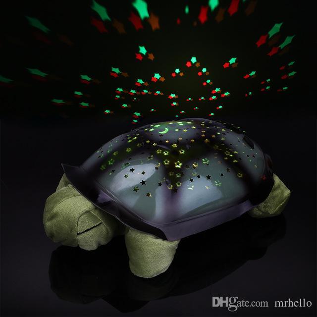 Grosshandel Turtle Nachtlicht Projektor Baby Hilfe Schlaf Spielzeug