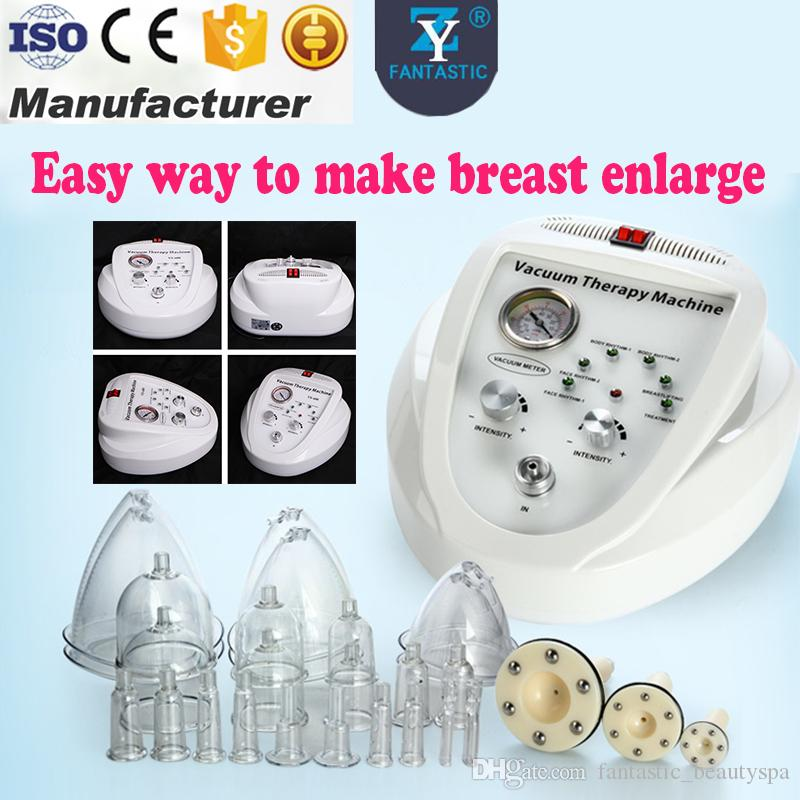 2019 Breast Enlargement Vacuum Pump Machine Breast Lifting Cupping Bust  Vacuum Enlarger Breast Shape Correcting Bust Massages Therapy Device From  ...