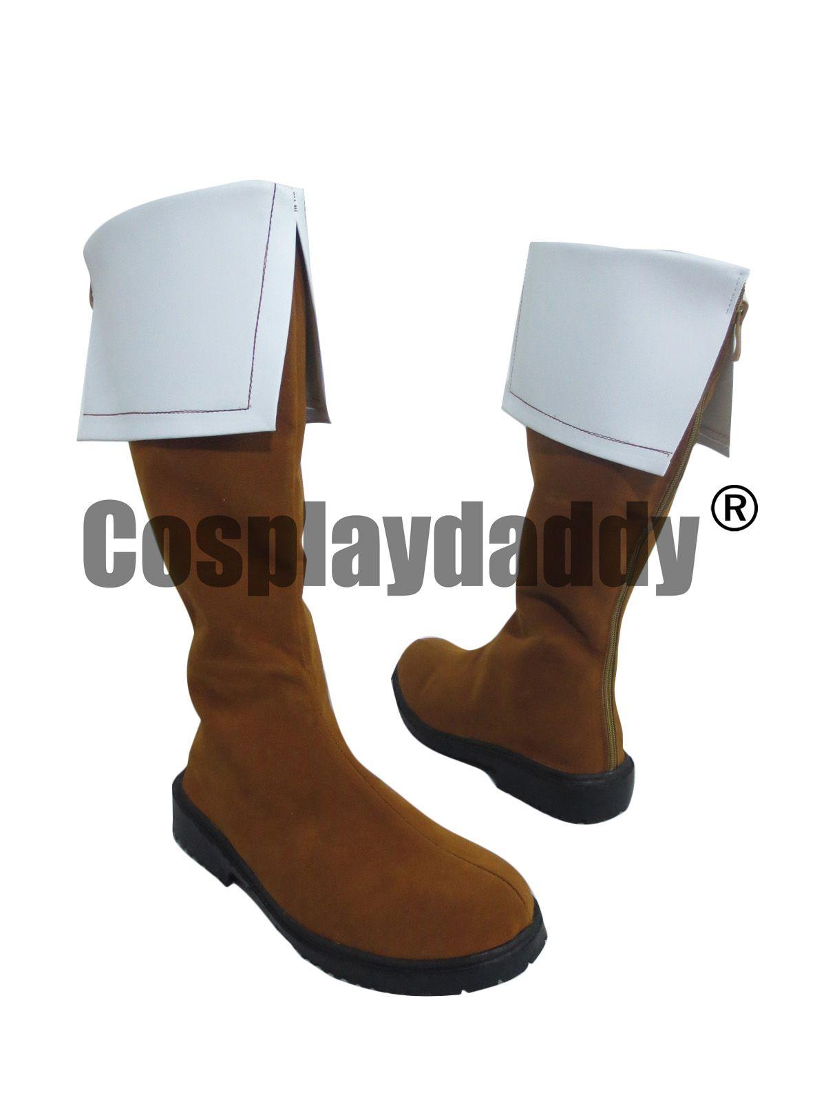 Axis Powers Hetalia Nord Italie Armée Longues Chaussures de Cosplay Bottes