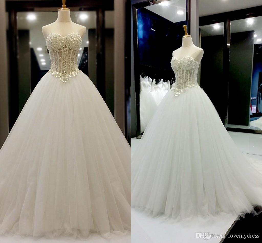 Cheap Wedding Dress White Rose Girl Images Discount Ruffle Bling Mermaid Wedding  Dresses 66493e083df2